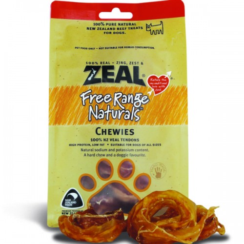 Zeal Free Range Naturals Dried Chewies - Dog Treats| Singpet.COM