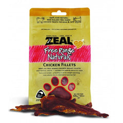 Zeal Free Range Naturals Dried Chicken Fillets - Treats For Dogs & Cats|SingPet.COM