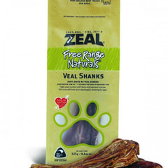 Zeal Free Range Naturals Dried Veal Shanks - Dog Treats|Singpet.COM