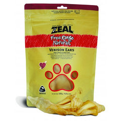 Zeal Free Range Naturals Dried Venison Ears - Dog Treats|Singpet.COM