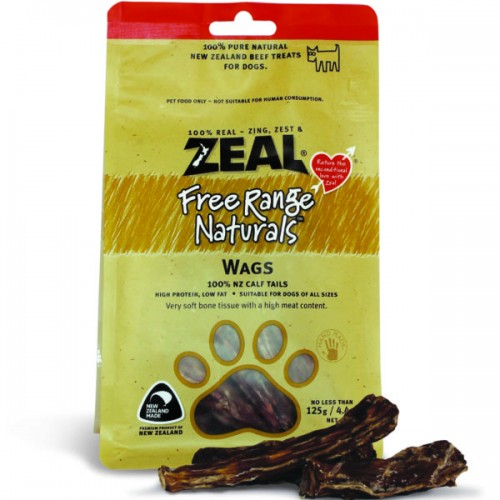 Zeal Free Range Naturals Dried Wags - Dog Treats|Singpet.COM