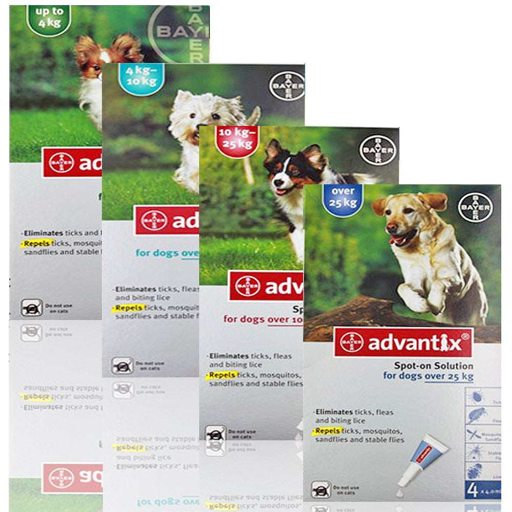 Advantix Flea & Tick Prevention Spot-On for Dogs