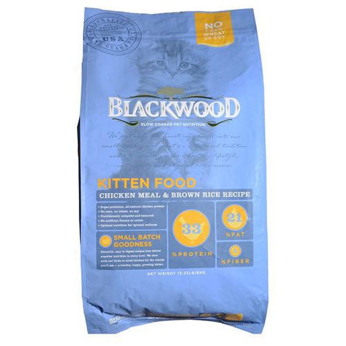 Blackwood Grain Free Kitten Food - Chicken Meal & Brown Rice Recipe | Singpet.Com