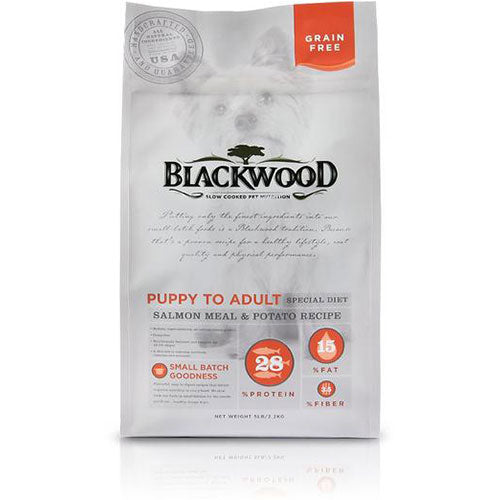 Blackwood Grain Free Formula For Puppy To Adult Special Diet - Salmon Meal & Potato Recipe | Singpet.COM