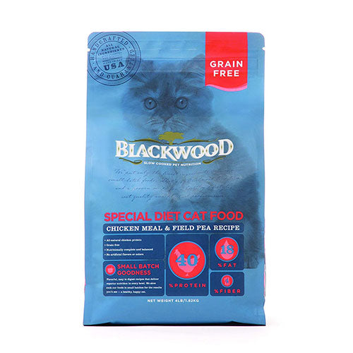 Blackwood Grain Free Special Diet Cat Food - Chicken Meal & Field Pea Recipe | Singpet.Com