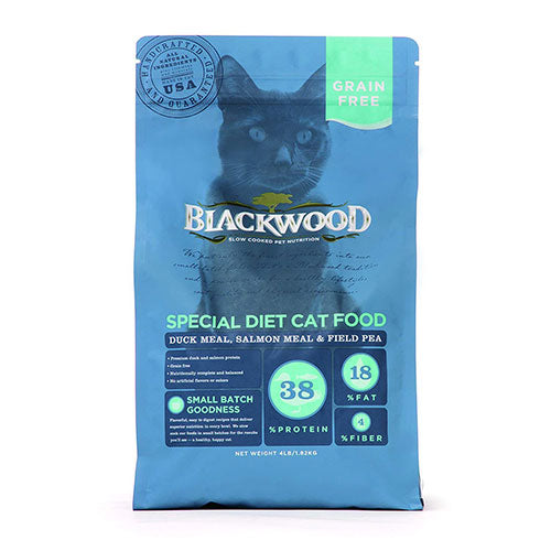 Blackwood Grain Free Special Diet Cat Food - Duck Meal, Salmon Meal & Field Pea Recipe | Singpet.Com