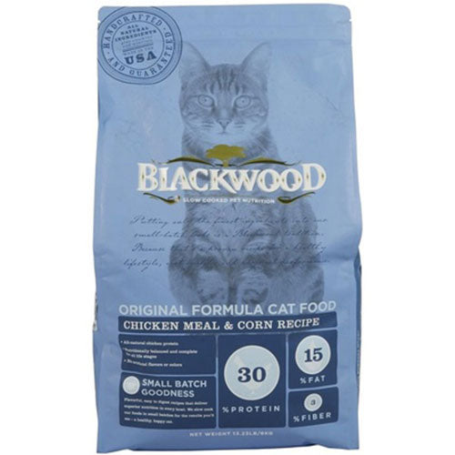 Blackwood Original Formula Cat Food - Chicken Meal With Brown Rice Recipe | Singpet.Com