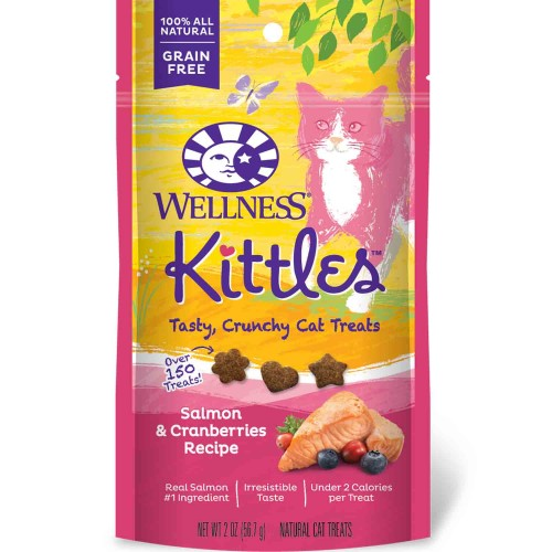 Wellness Kittles Salmon & Cranberries Recipe Cat Treats | Singpet.COM