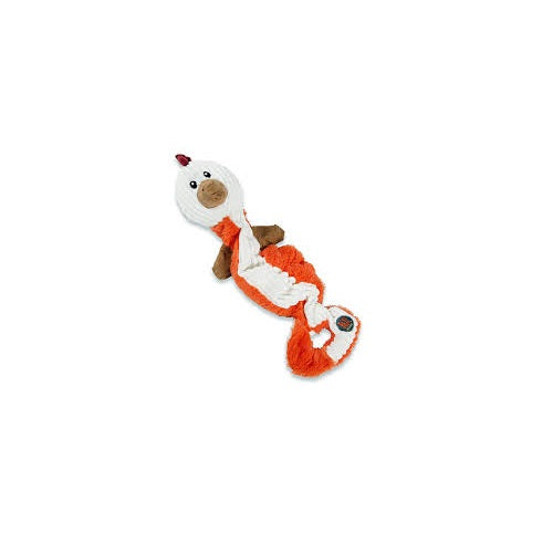 Charming Pets Tugging Talkies Dog Toy, Chicken | Singpet.Com