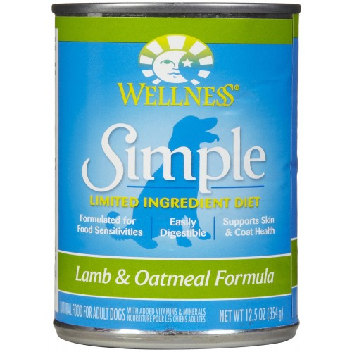 Wellness Simple Lamb & Oatmeal Dog Food | Singpet.COM