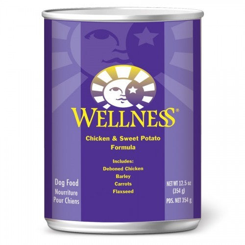Wellness Complete Health Chicken & Sweet Potato - Wet Canned Dog Food | Singpet.COM
