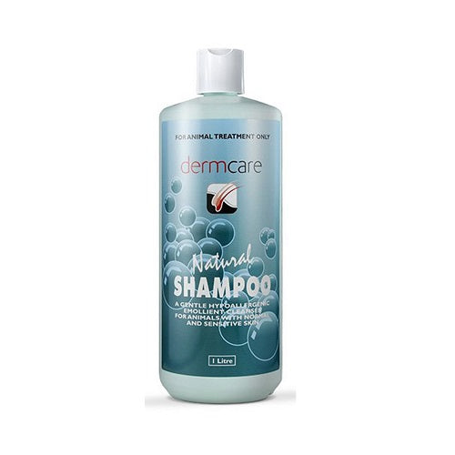 Dermcare Natural Shampoo for Dogs & Cats, 1 Litre | Singpet.COM
