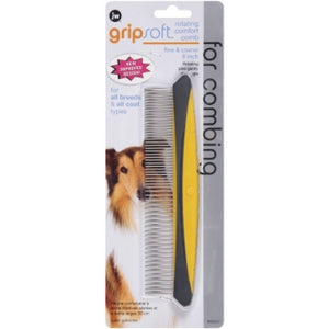 JW GripSoft Rotating Comfort Comb For Dogs | Singpet.Com