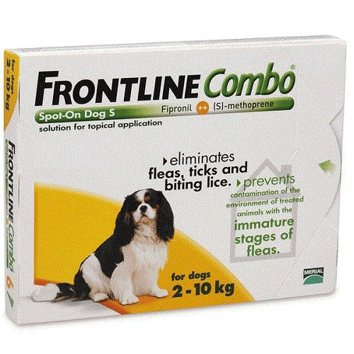 Frontline Combo Spot-on For Small Dogs 2-10 kg, 6 Pack | Singpet.Com