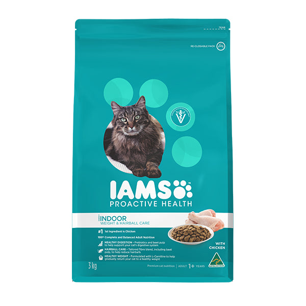 Iams Adult Weight & Hairball Care Dry Cat Food | Singpet.Com