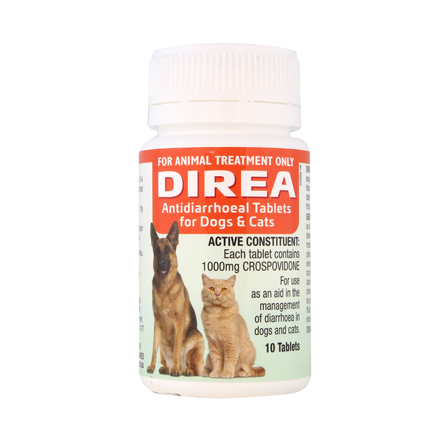 Direa Antidiarrhoeal Tablets for Dogs & Cats | Singpet.Com