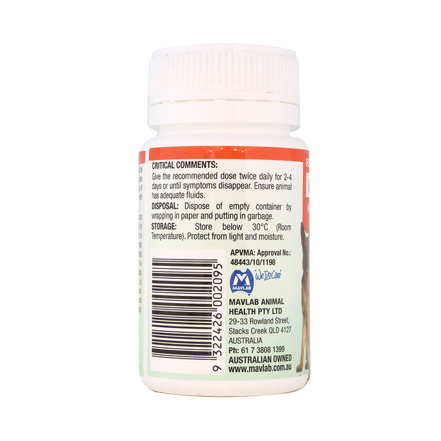 Direa Antidiarrhoeal Tablets for Dogs & Cats