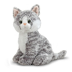 Melissa & Doug Greycie Tabby Cat Stuffed Animal Toy | Singpet.Com