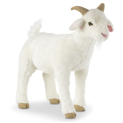 Melissa & Doug Lifelike Goat Stuffed Animal Toy