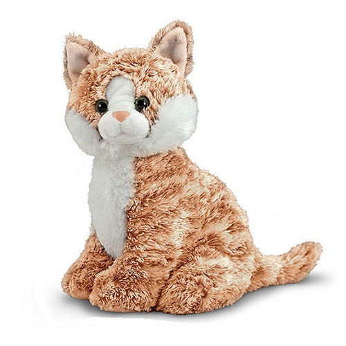 Melissa & Doug Pumpkin Tabby Cat Stuffed Animal Toy | Singpet.Com