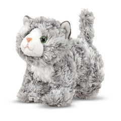 Melissa & Doug Roxie Grey Tabby Kitten Stuffed Animal Toy | Singpet.Com