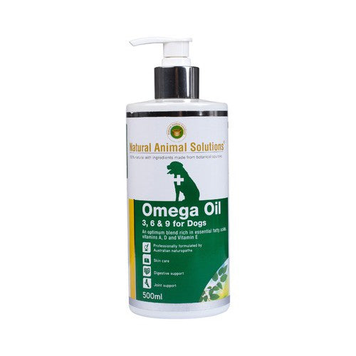 Natural Animal Solutions Omega Oil 3,6 & 9 For Dogs | Singpet.Com