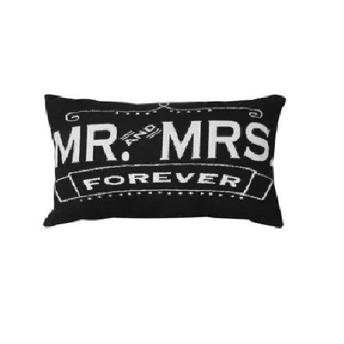 Park B. Smith Vintage House Pillow, Mr & Mrs. Forever Pattern
