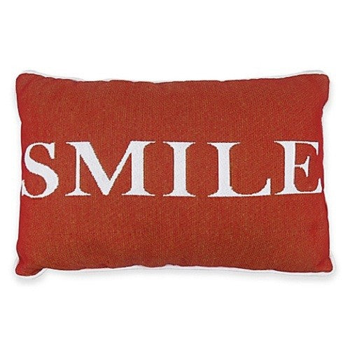 Park B. Smith Vintage House Pillow, Smile Pattern