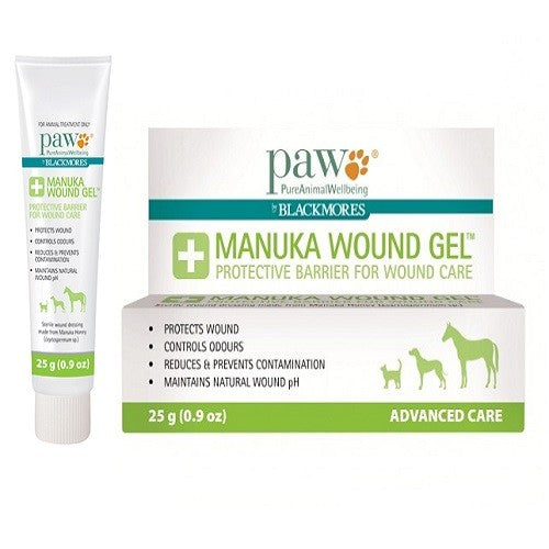 Blackmores PAW Manuka Wound Gel For Animal Wounds, 25 g