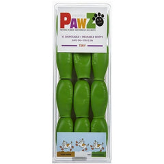 Pawz Natural Disposable/Reusable Dog Boots, Tiny | Singpet.COM