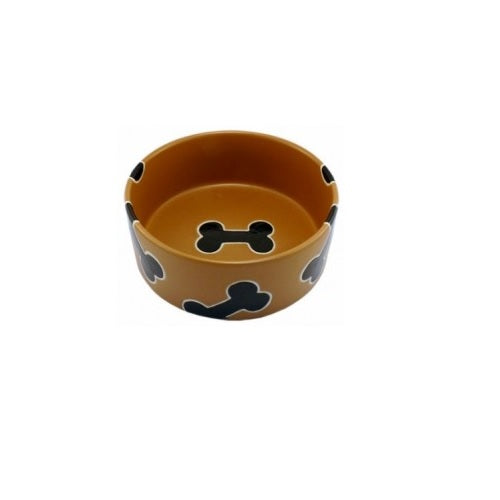 Petrageous Slicker Bones Pet Bowl | Singpet.Com.Sg