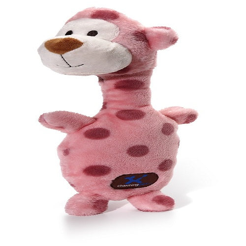 Charming Pets Poppin' Polkies Dog Toy, Monkey | Singpet.Com