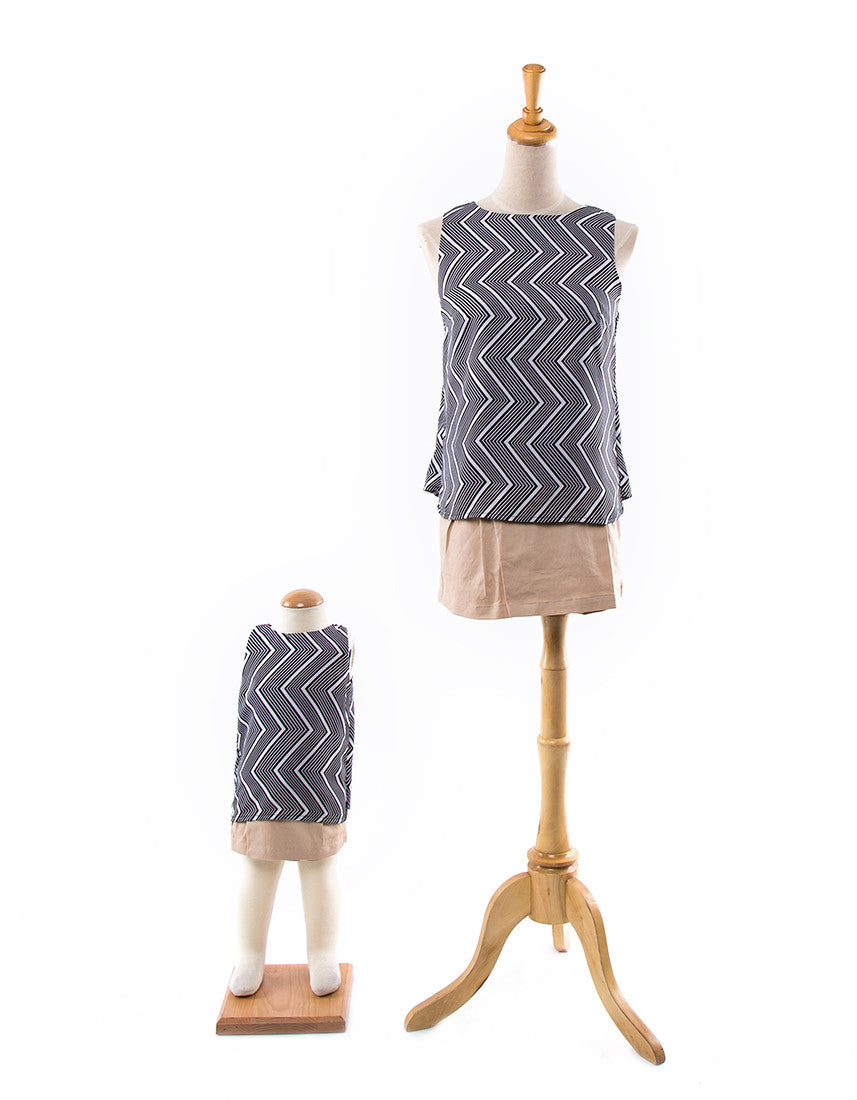 (Mother Daughter Outfit) Joan Sleeveless Top  ...