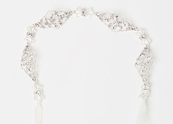ivory knot-wedding accessories-bridal belt-lily