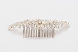 ivory knot-wedding accessories-bridal hair comb-may