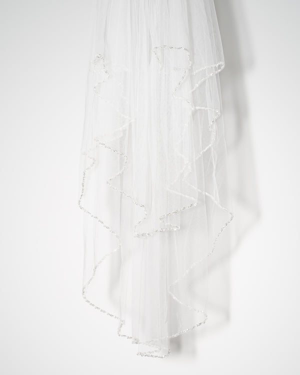 ivory knot-wedding accessories-bridal veil-gigi