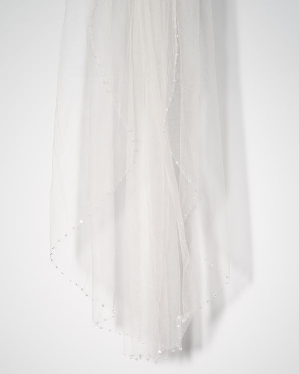 ivory knot-bridal accessories-wedding veils-amy