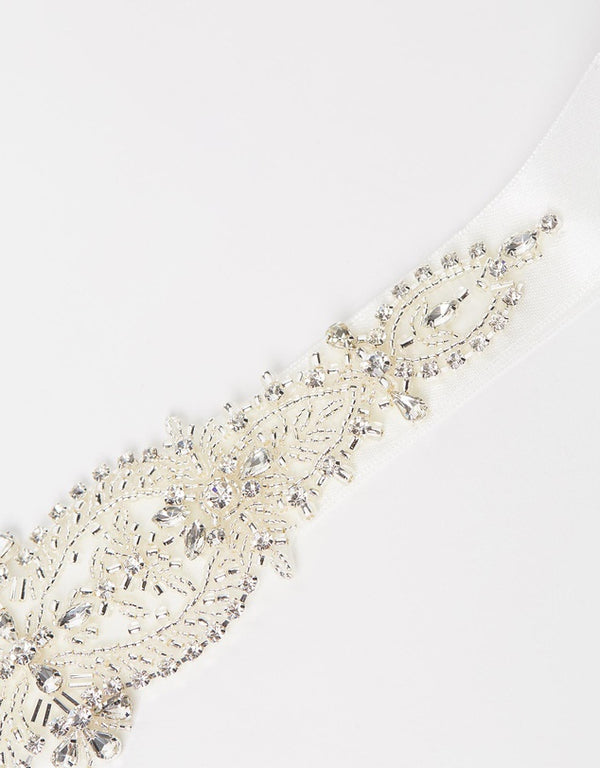 ivory knot-wedding accessories-bridal belts-rosa