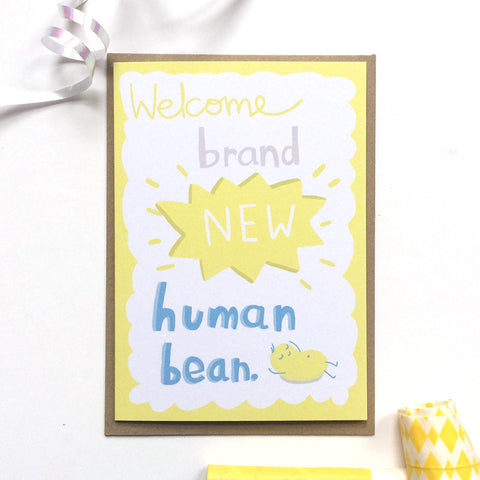 New Human Bean Card
