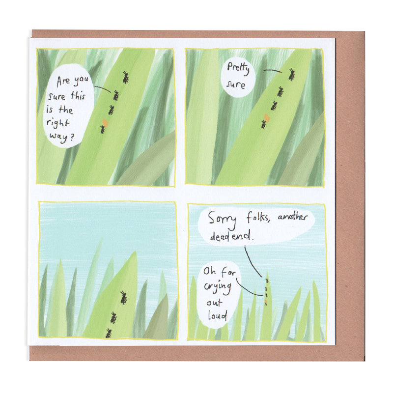 Deadend Greeting Card