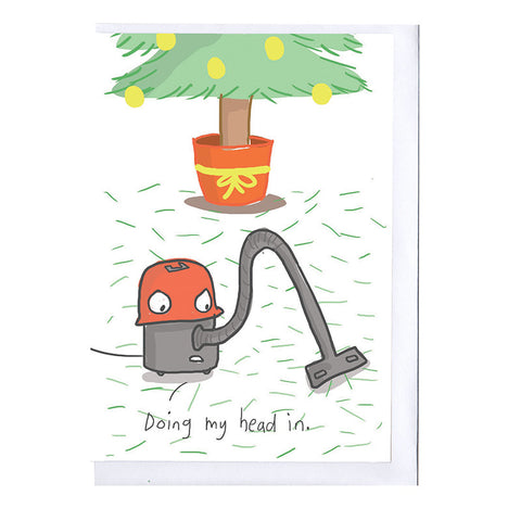Henry Hoover Christmas Card