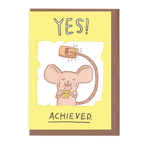Yes! Achieved! Card
