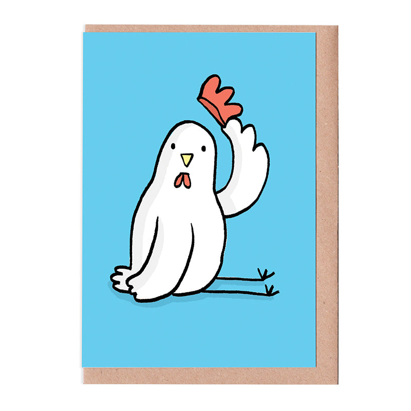 Polite Chicken Card