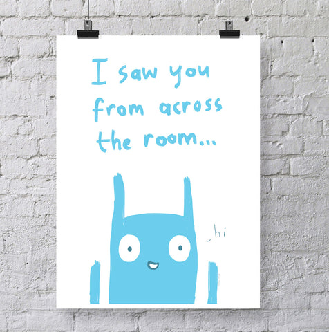 Across the Room Print