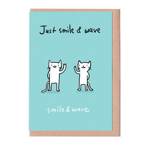 Smile & Wave Card