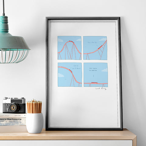 Ups and Downs Print