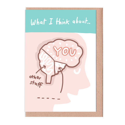 What I think about personalised card