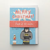 Batman and Robin Christmas Card