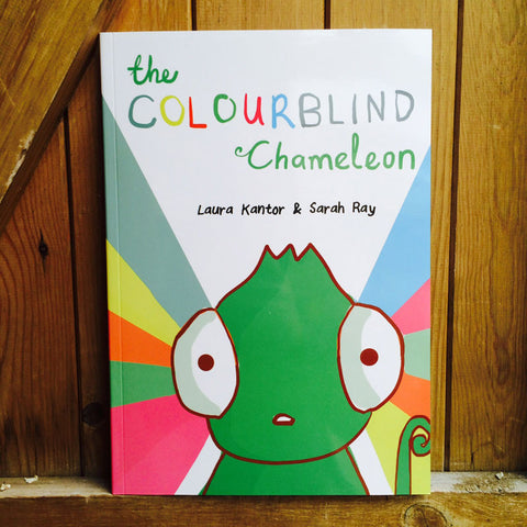 The Colourblind Chameleon Picture Book