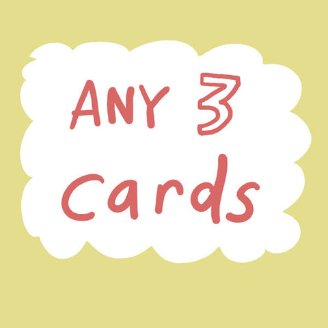 Get 3 of any card DEAL (excludes foiled cards)